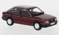 Ford Escort MK IV, metallic-donkerrood, 1988
