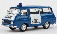 Skoda 1203 Mikrobus, SOOL, 1974 , bleu