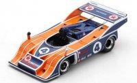 PORSCHE 917/10 N°4 2ÈME MOSPORT 1973 HANS WIEDMER (500EX)