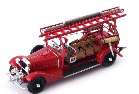Tatra 70 fire engine, rood