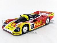 PORSCHE 962 C SHELL -24h LE MANS 1988 , nr18 , Wolleck - Schuppan - Van der Merwe