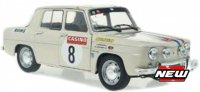 Renault 8 GORDINI nr8 RAGNOTTI/DUVERNAY RALLY MONTE CARLO