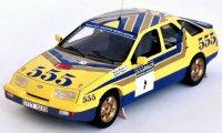 Ford Sierra XR4x4, No.1, 555, Rallye Hong Kong - Peking, S.Blomqvist/B.Berglund, 1987