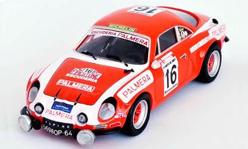 Alpine Renault A110, No.16, Escuderia Palmera, Ral