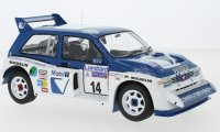 MG Metro 6R4, No.14, RAC Rally, D.Llewellin/P.Short, 1986