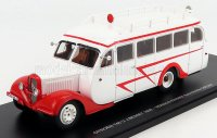 CITROEN T45 U AUTOBUS J.BESSET VERSION FERMEE 1939 - Blanc ,rouge