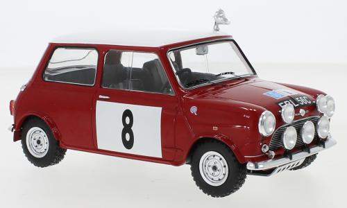 Mini Cooper S, No.8, BMC, RAC Rally, P.Hopkirk/H.L