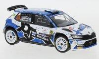 Skoda Fabia Rally 2 EVO, No.34, Rally Croatia, E.Lindholm/M.Korhonen, 2021