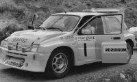 MG Metro 6R4, No.1, Scottish Rally Championship, 1991 Championship Winner, D.Milne/B.Wilson
