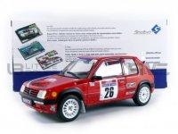 Peugeot 205 #26 DEVIN/VISTE RALLY PTS TOUR DE CORSE 1990