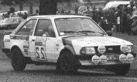 Ford Escort MKIII RS 1600i, No.22, RAC Rally, L.Aitken-Walker/E.Morgan, 1983