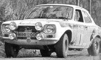 Ford Escort MKI RS 1600, No.1, RAC Rally, New Blue, R.Clark/T.Mason, 1973