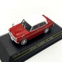 Datsun Bluebird 310, 1959 rouge , blanc
