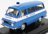 SKODA - 1203 MINIBUS VEREJNA BEZPECNOST POLICE 1974 , bleu blanc