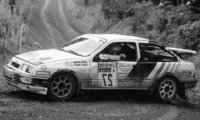 Ford Sierra RS Cosworth, No.27, RAC Rally, C.McRae/D.Ringer, 1989