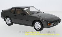 Porsche 924 Turbo 1979 gris fonce metallic