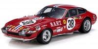 FERRARI - 365 GTB/4 DAYTONA 4.4L V12 NORTH AMERICAN RACING TEAM N 38 13th 24h LE MANS 1973 FRANCOIS MIGAULT - LUIGI CHINETTI JR. - RED