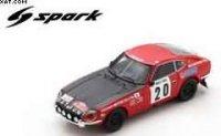 DATSUN 240 Z N°20 29th RALLYE MONTE CARLO 1972 TONY FALL MIKE WOOD